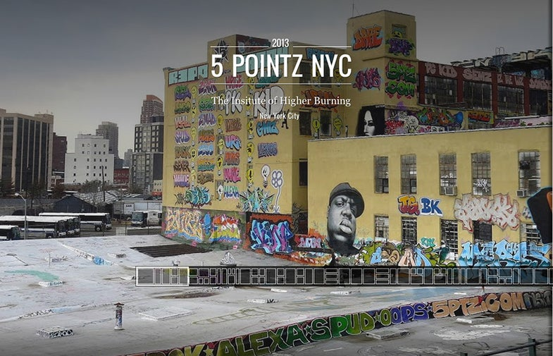 Google Launches Street Art Project