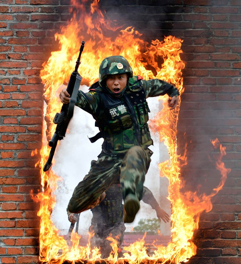 Photo of the Day: Chinese Military Exercises Heat Up