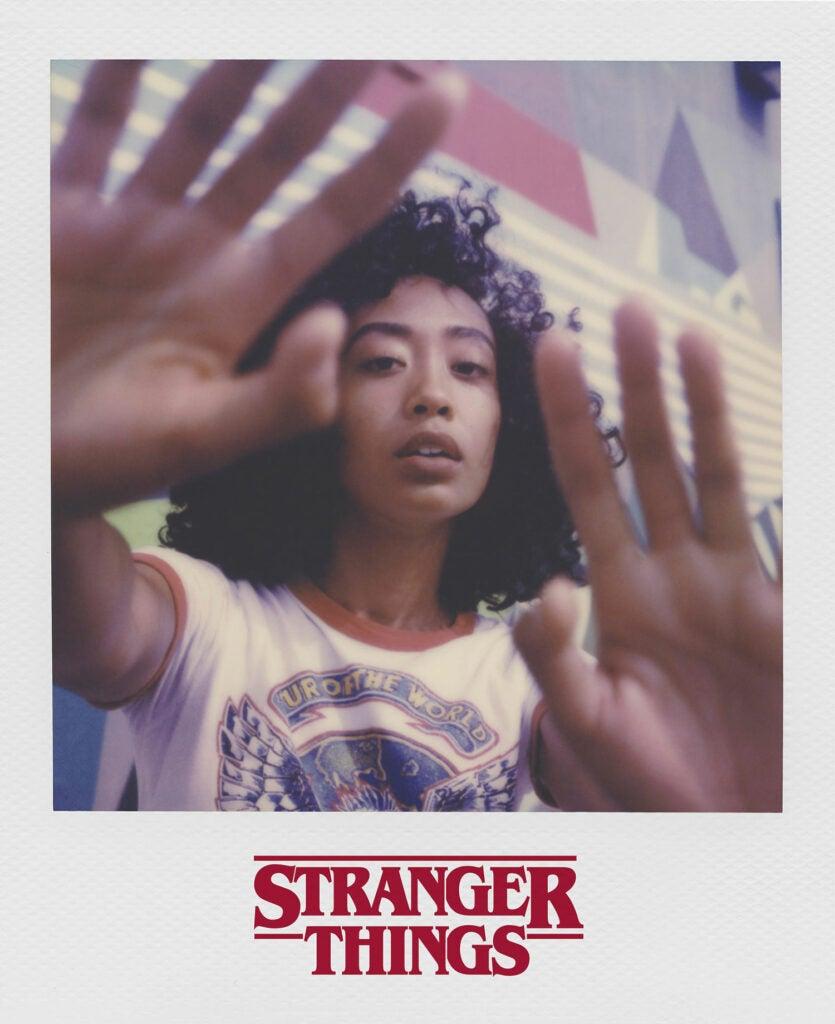 Stranger Things polaroid sample