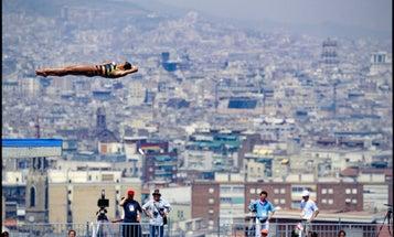 David Burnett's Unconventional Images of Olympic Athletes