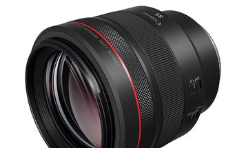 The Canon RF 85mm F1.2 L portrait lens is the first RF lens with BR optics