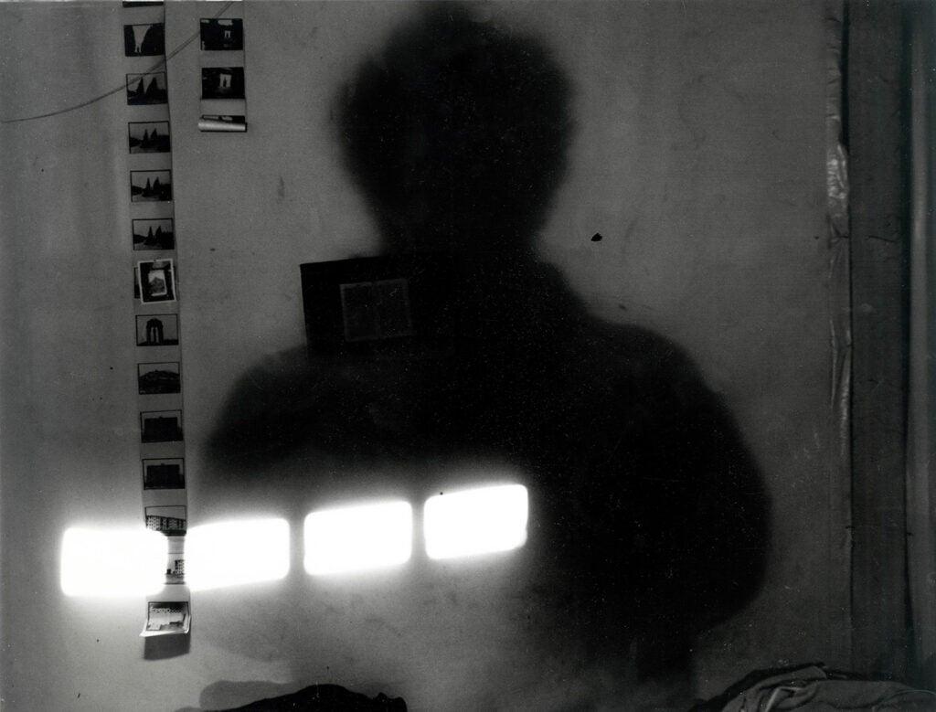 shadowy darkroom in New York