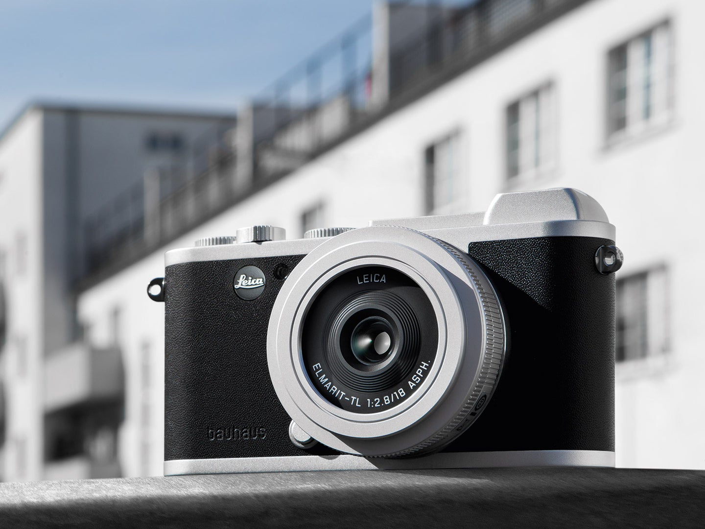 This special edition Leica CL honors 100 years of Bauhaus