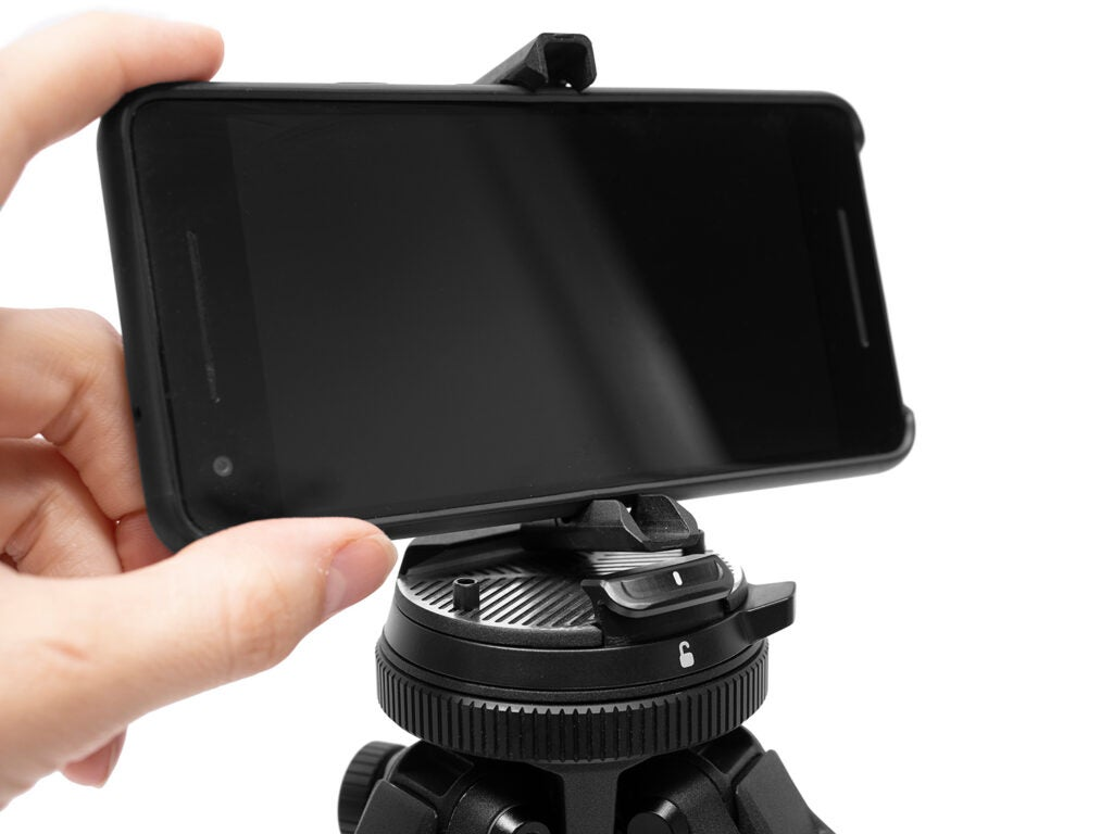 Peak Design Travel Tripod phone mount