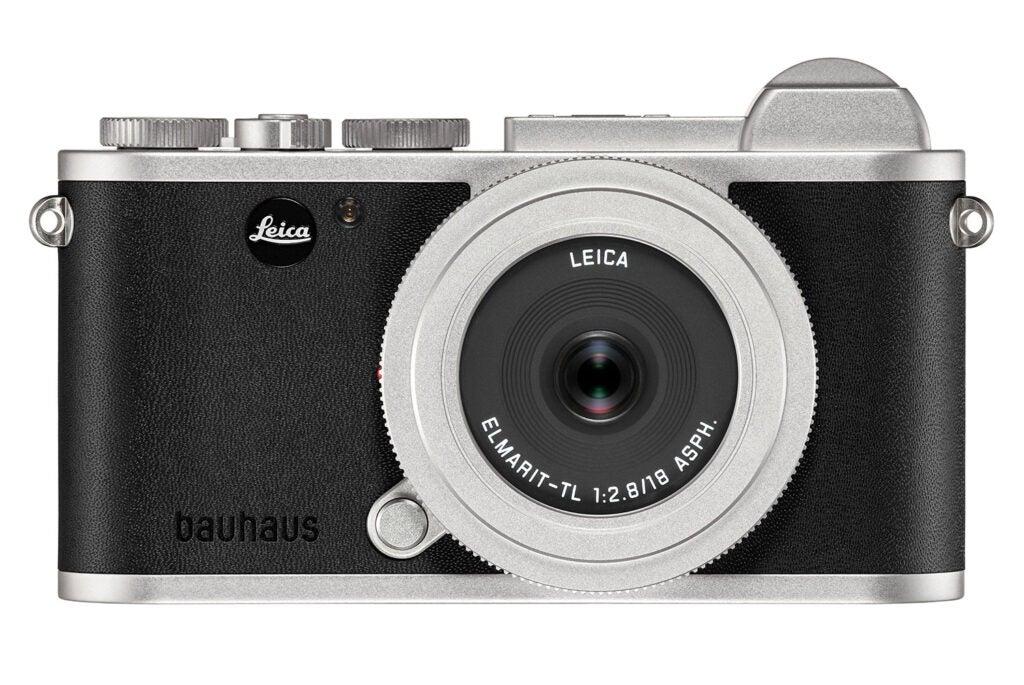 silver Leica CL