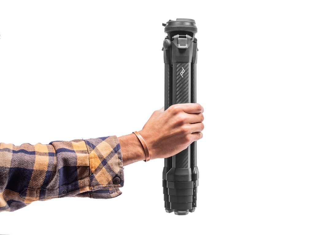 Peak Design Travel Tripod compact