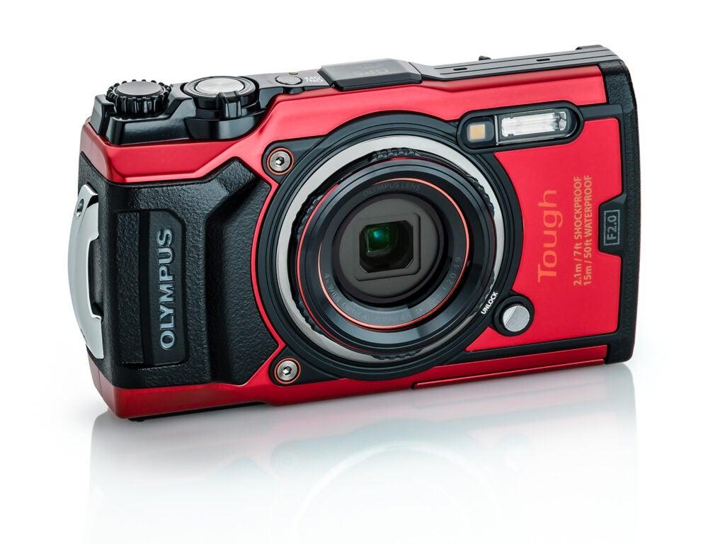 Red Olympus TG-6