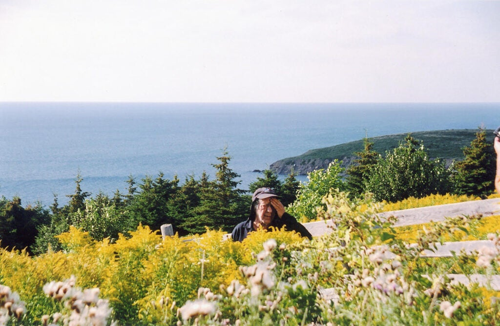 Robert Frank in Mabou, Nova Scotia