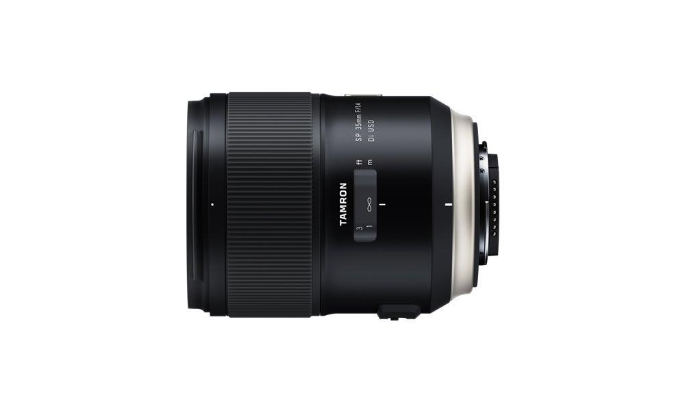 Tamron's new SP 35mm F/1.4 Di USD prime lens commemorates 40 years of SP series lenses