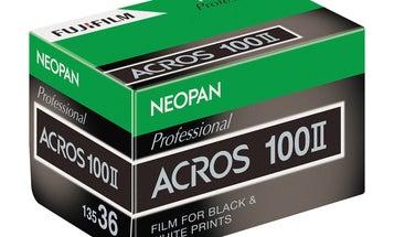 Fujifilm's upcoming Neopan Acros 100 II black-and-white film upgrades a classic stock