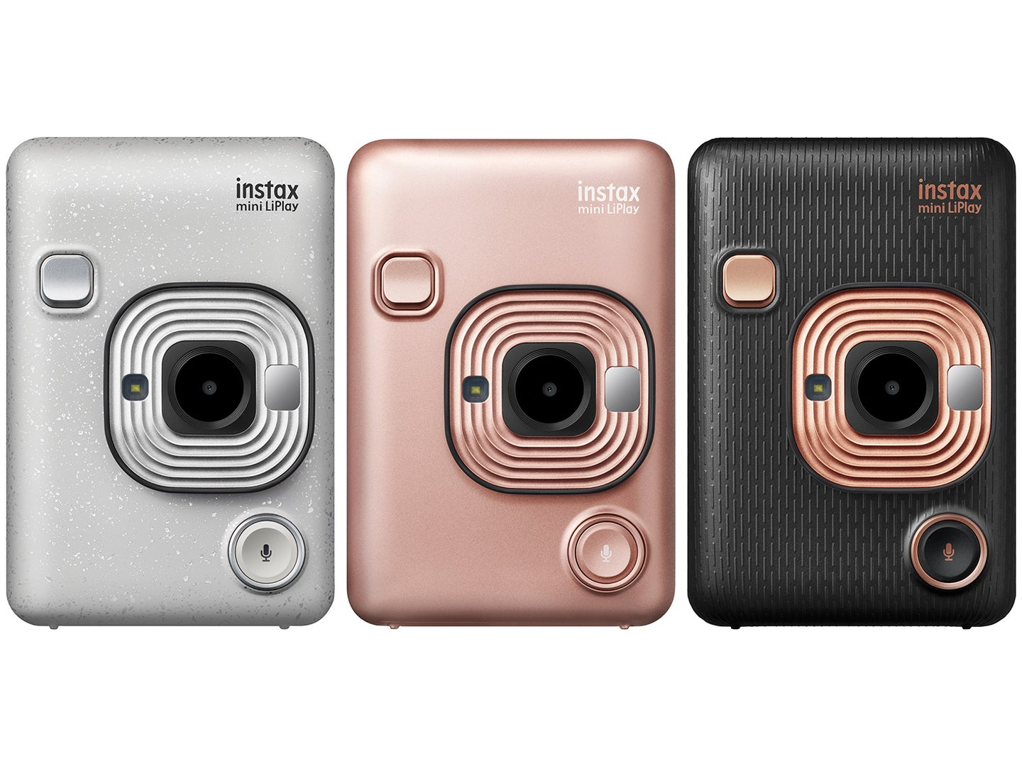 The Fujifilm Instax Mini LiPlay is an instant film camera that records sound