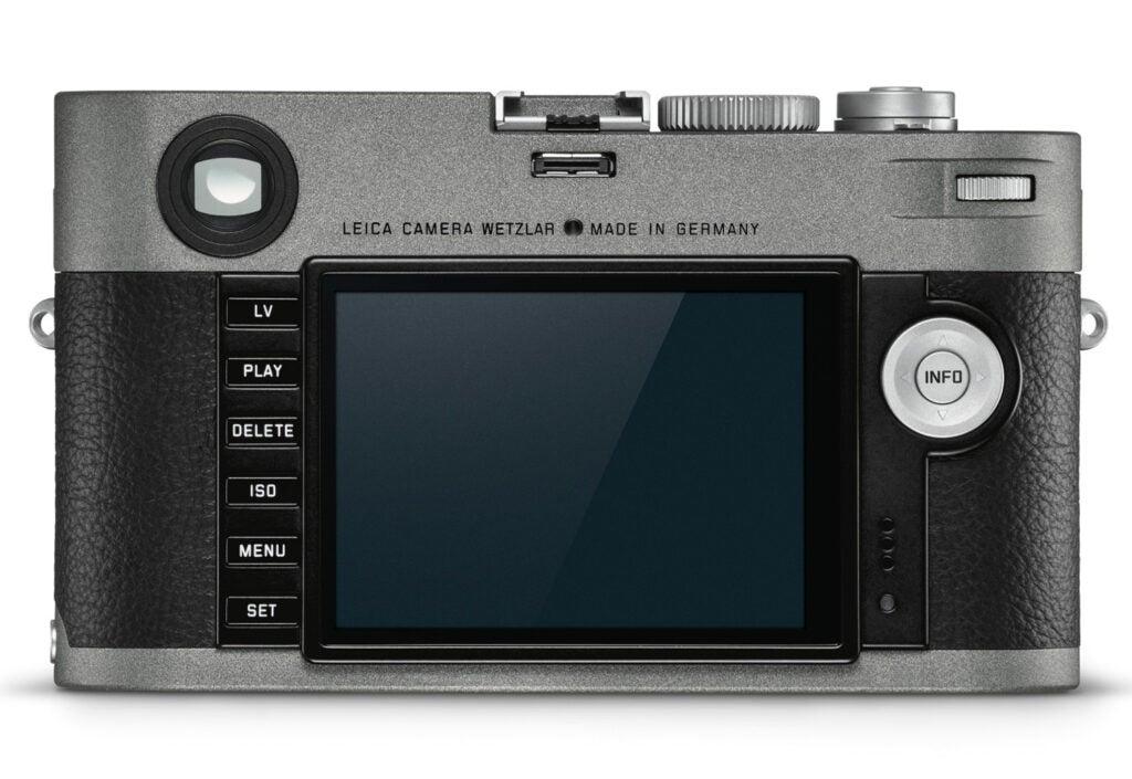 Leica M-E LCD screen