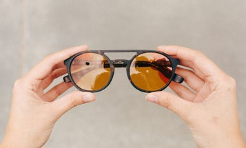Tens Spectachrome sunglasses filter the world to look like a Wes Anderson film