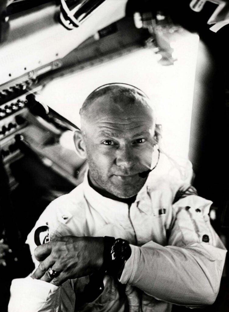 Buzz Aldrin vintage photo
