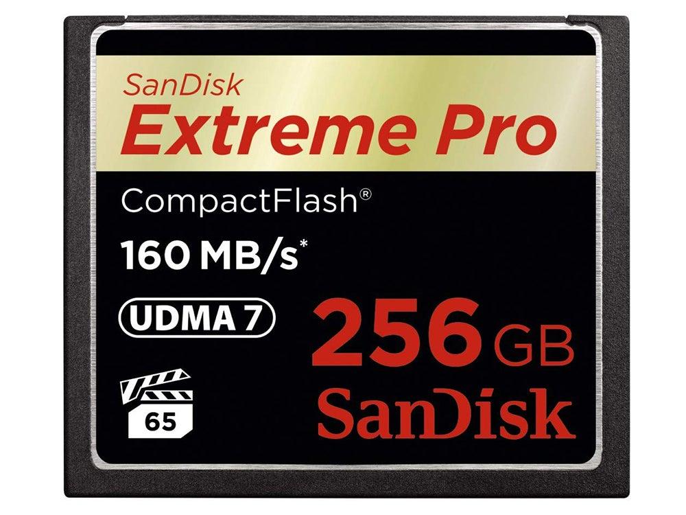 Sandisk Extreme Pro CF card