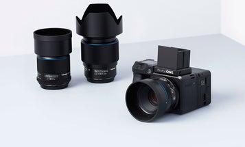 Shooting with a 150-megapixel, medium-format camera