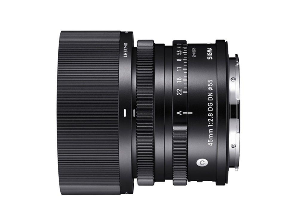 compact prime lens