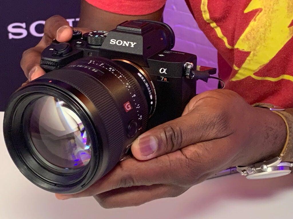 Sony A7R IV camera demo