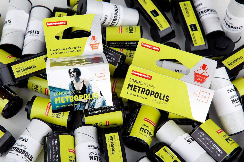 LomoChrome Metropolis R 100-400 film is raising funds on Kickstarter