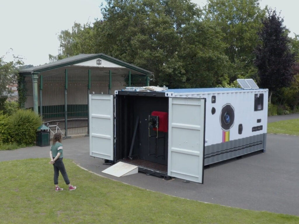 shipping container camera