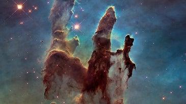 Hubble Photograph Pillars of Creation
