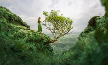 How Lizzy Gadd combines nature photography and self-portraits