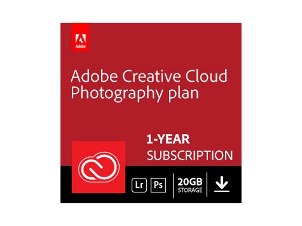 Plan de fotografía de Creative Cloud