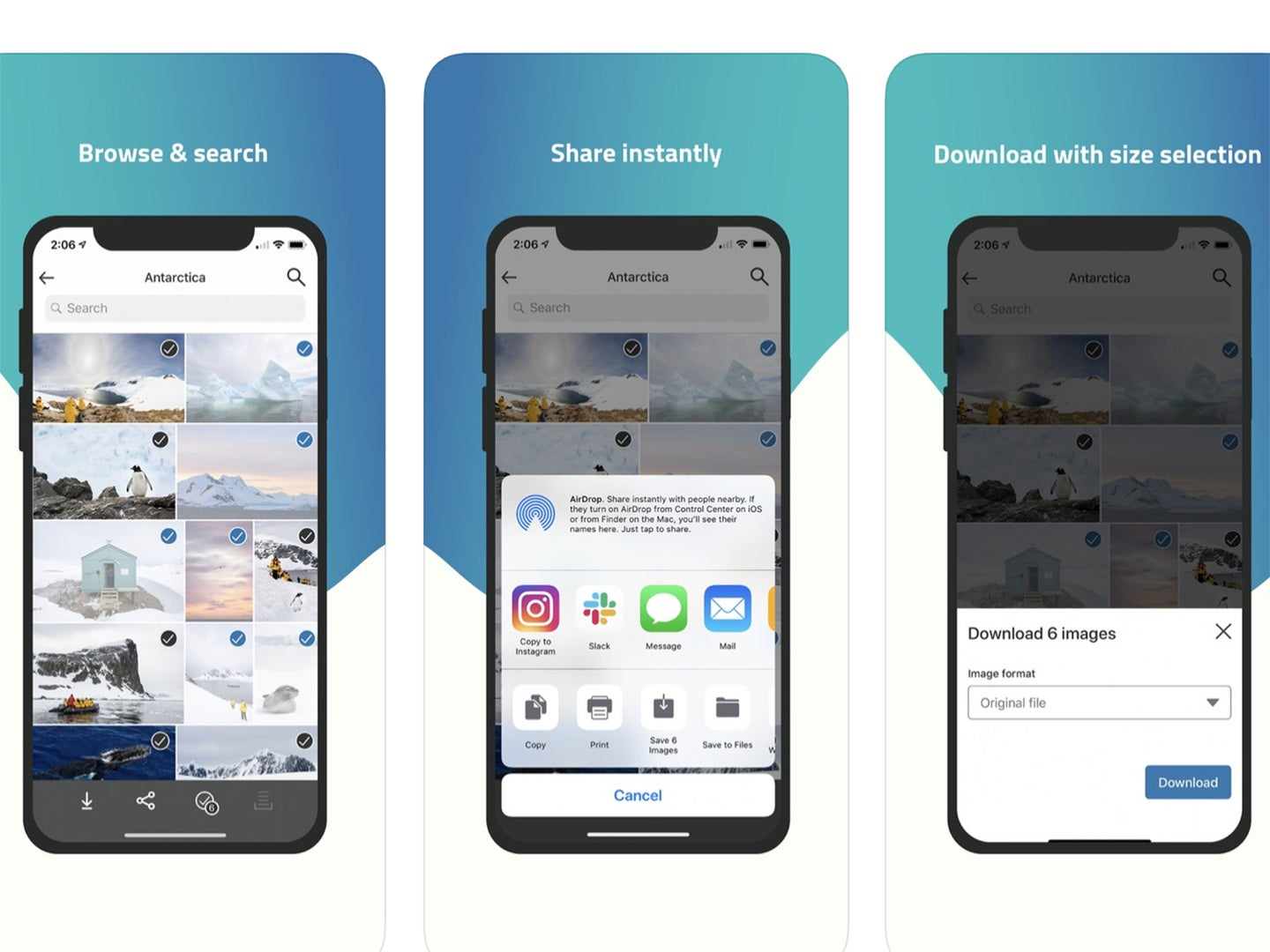 PhotoShelter's new app lets photographers deliver photos to clients directly from a phone