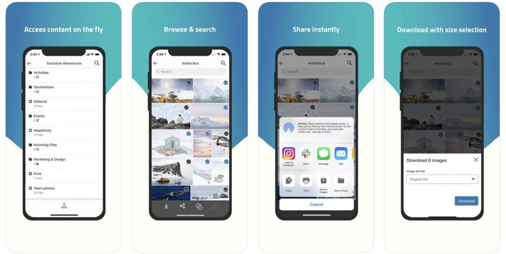PhotoShelter App