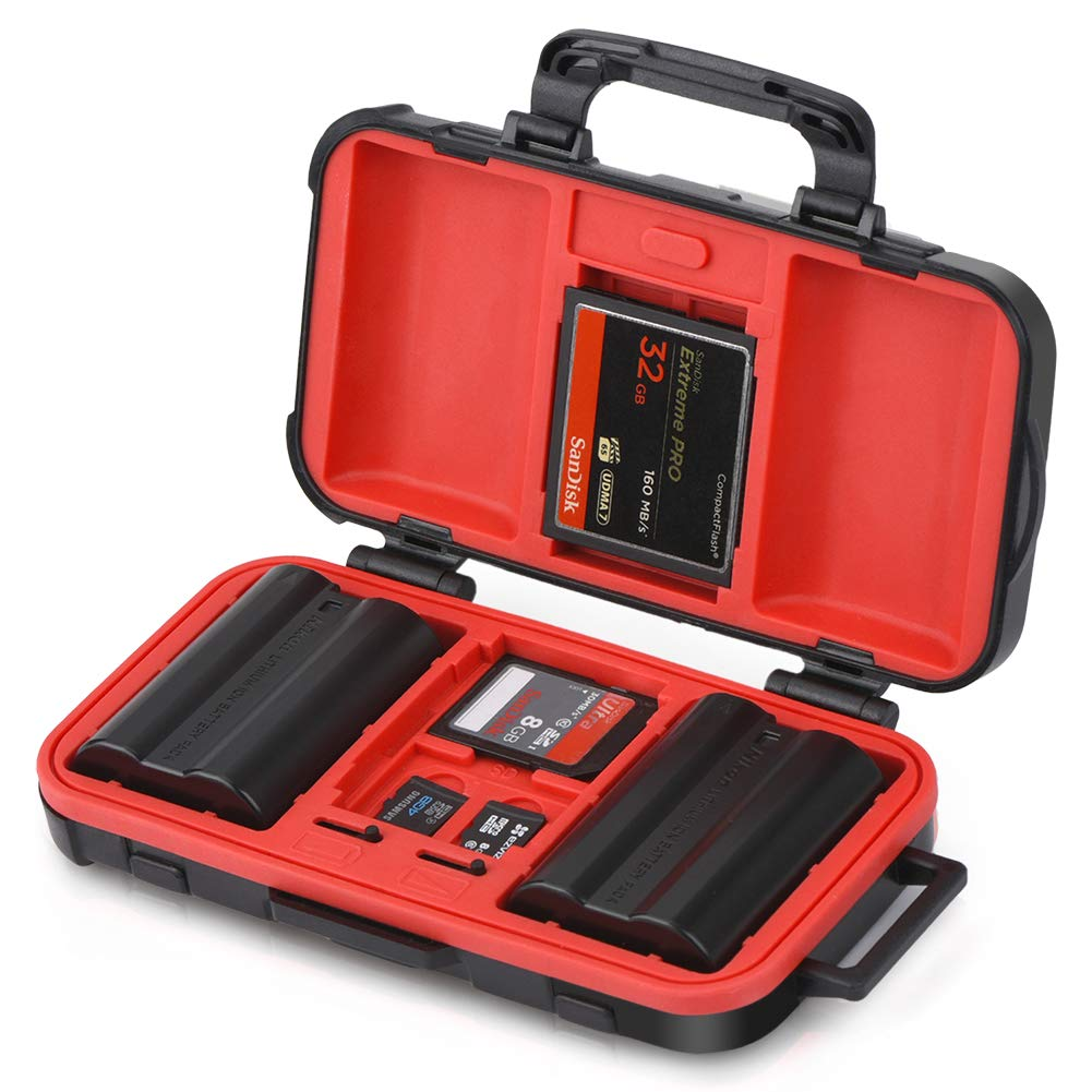 Lensgo Memory Card and Battery Case