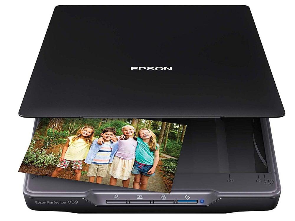 Excelentes escáneres fotográficos para todos los presupuestos - Epson Perfection V39