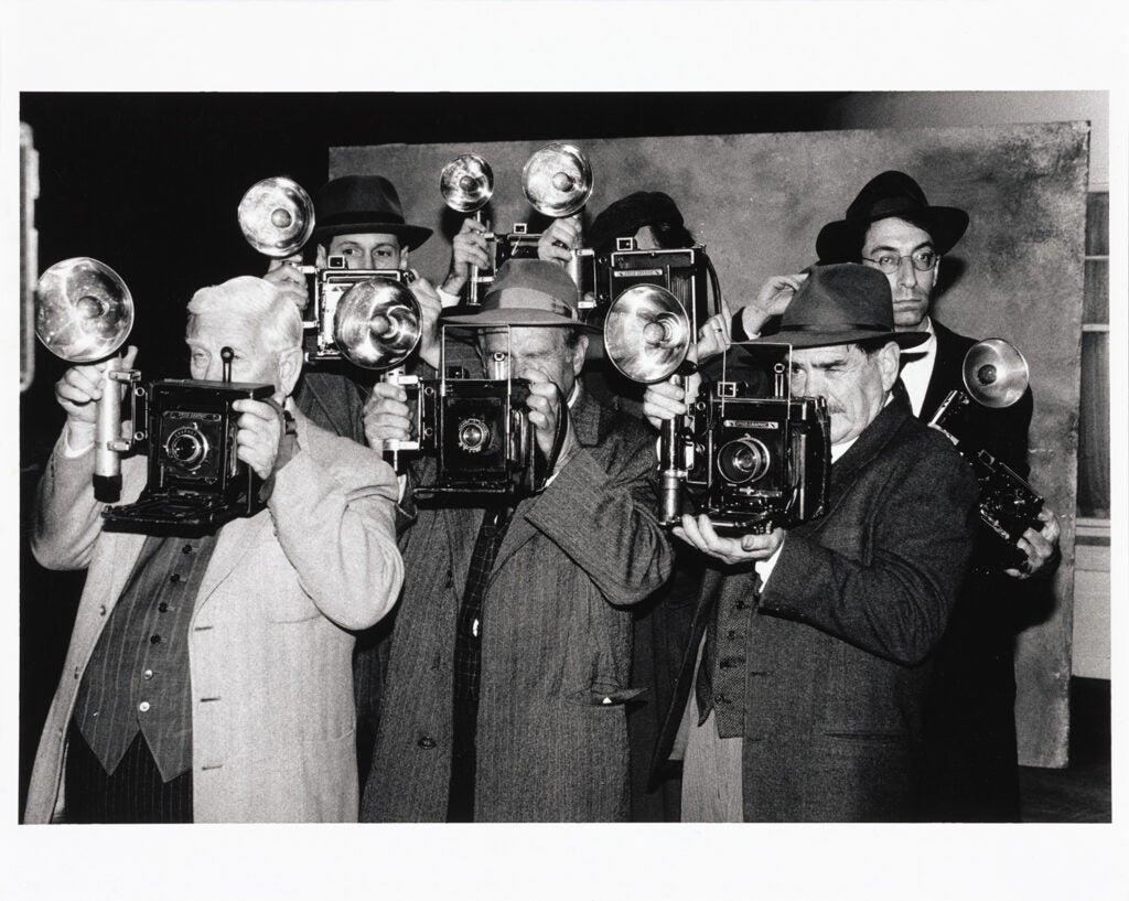 Extras with Film Cameras