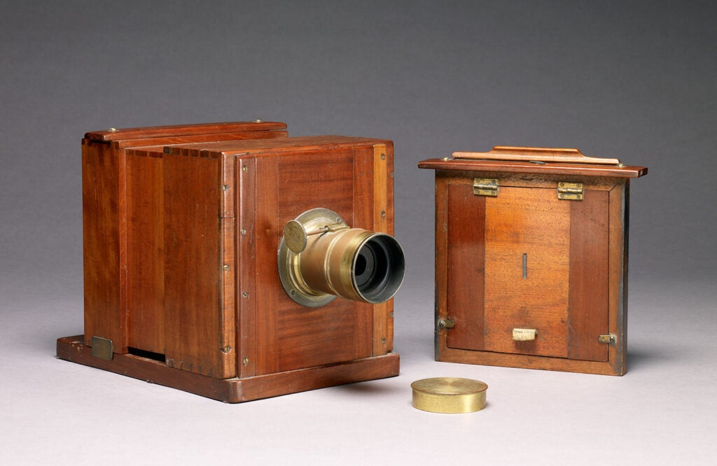 wooden Wet-plate Camera
