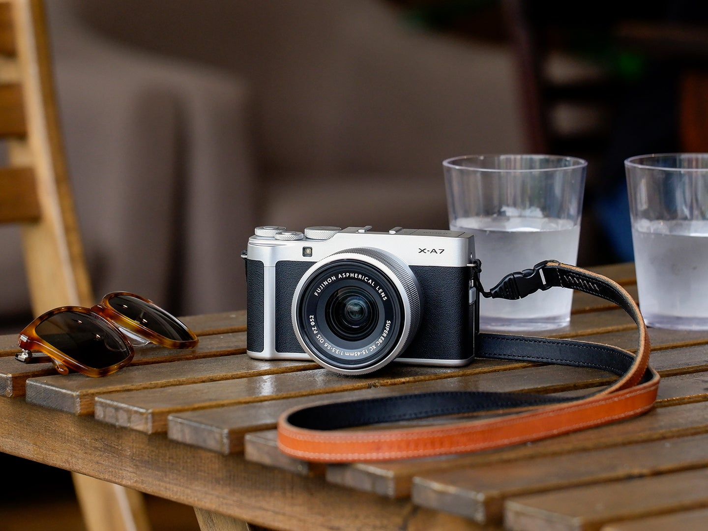 Fujifilm's X-A7 is an entry-level mirrorless with a 24MP sensor