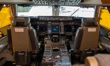 Explore the gauges, levers, and history of a 747's iconic cockpit