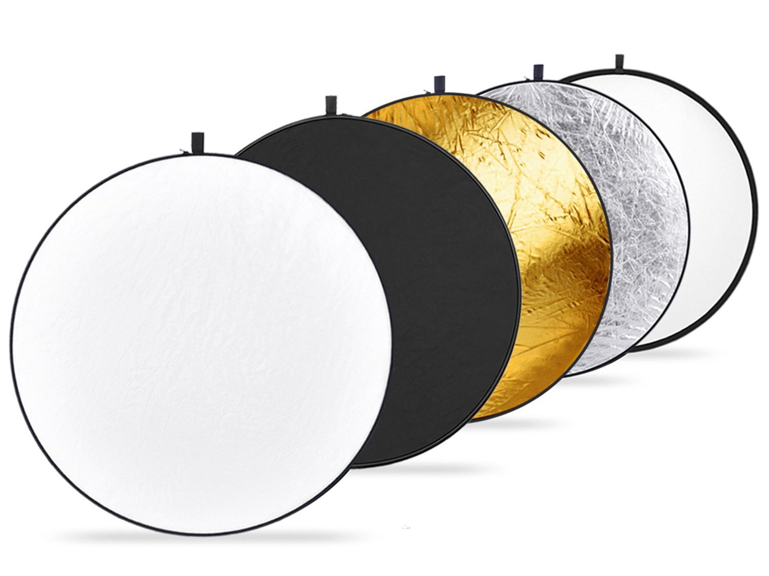 5-in-1 collapsible reflector