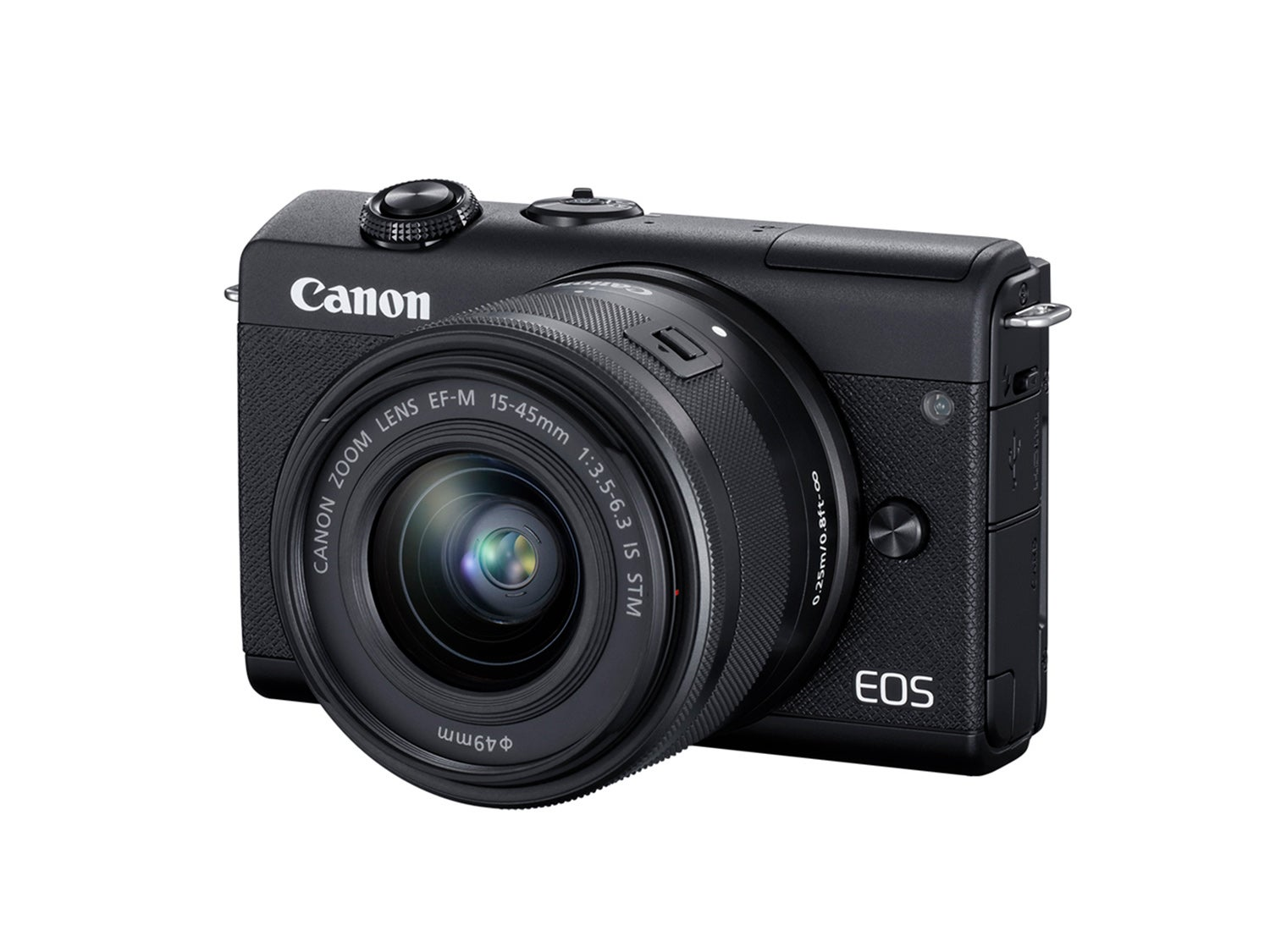 Canon's new EOS M200 entry-level mirrorless camera brings eye-detection and 4K video