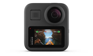 The GoPro Max camera has two lenses that go beyond 360 video