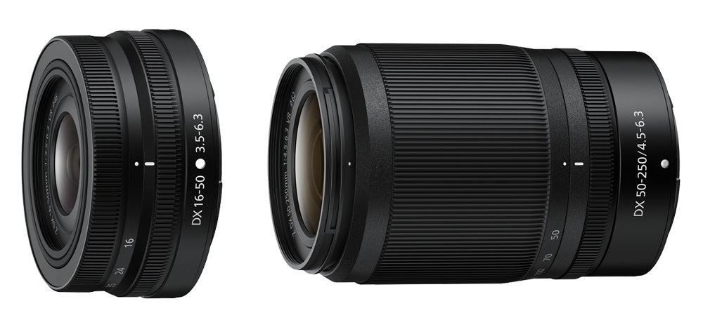 Nikkor Z DX 16-50mm F3.5-6.3 VR and the Z DX 50-250mm F4.5-6.3 VR
