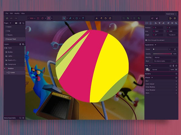 Create scalable vector graphics for just $39 with Gravit Design PRO