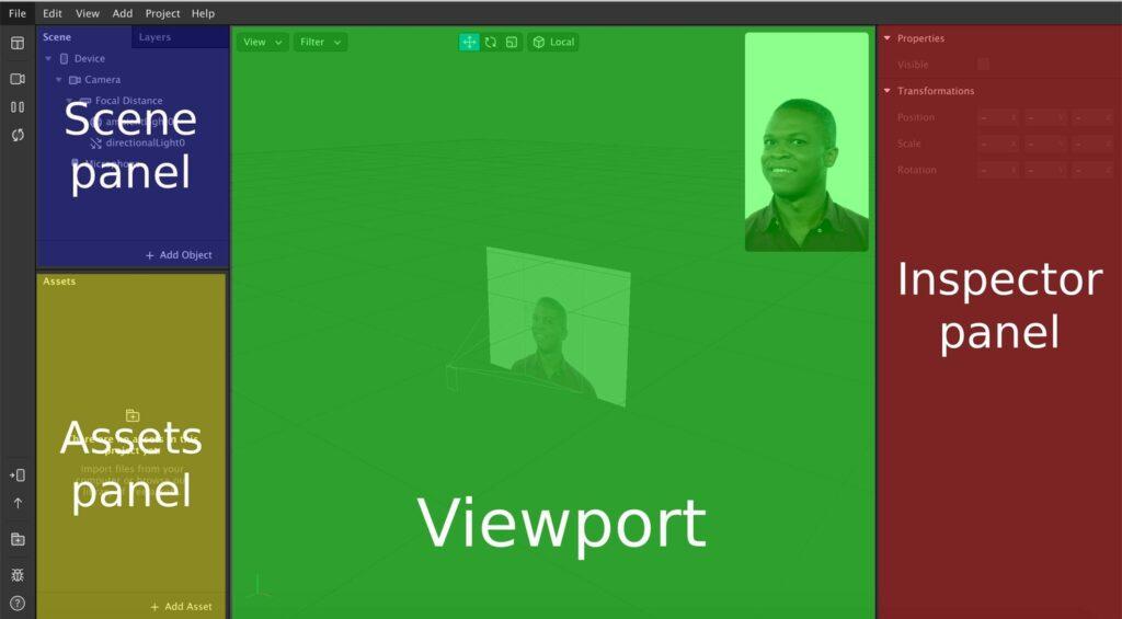 screenshot of spark ar platform