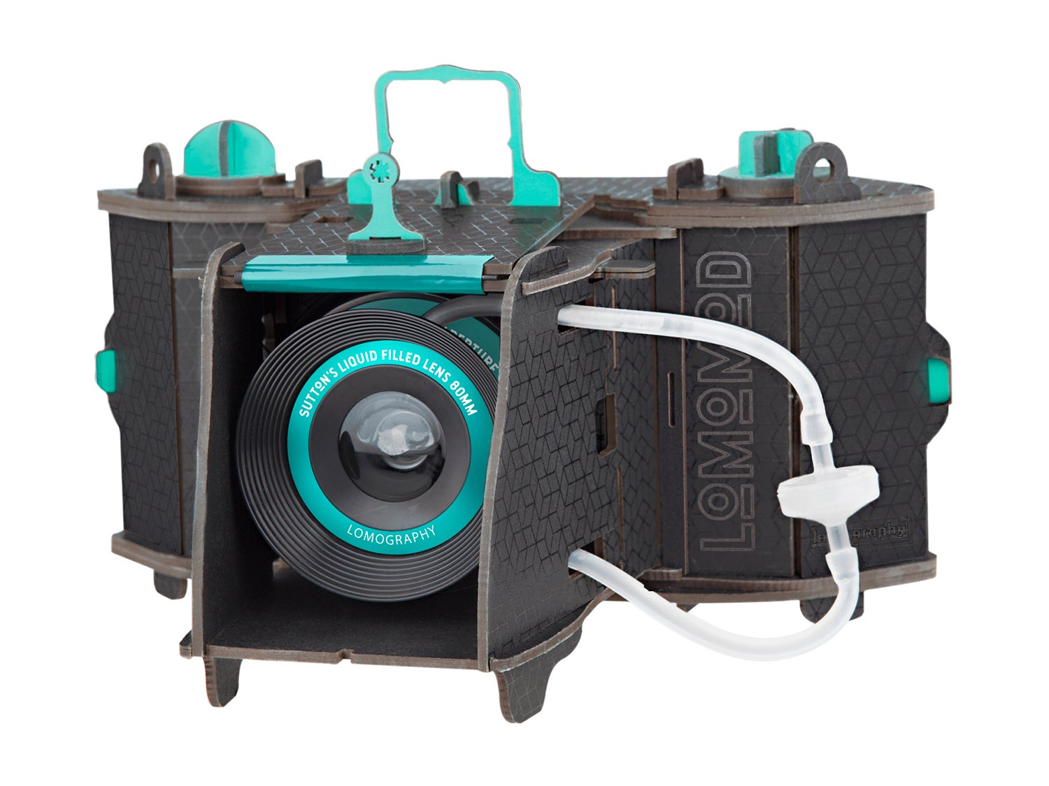 Lomography's build-it-yourself camera in a box has a crazy liquid filled lens