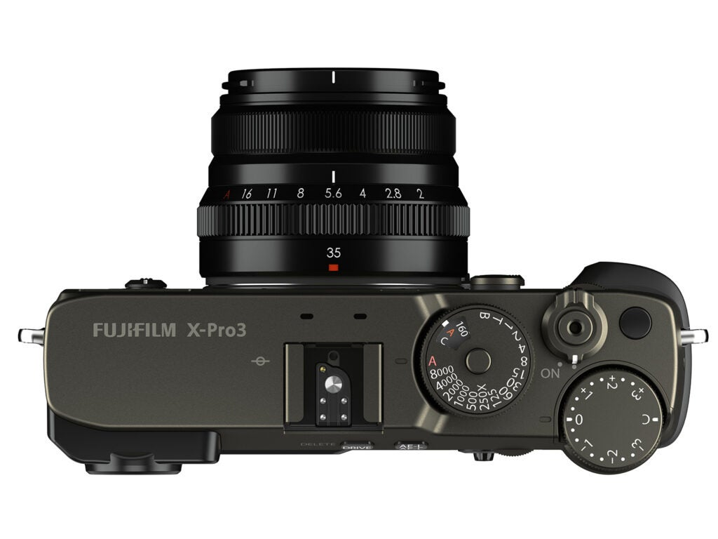 Fujifilm X-Pro3 top view