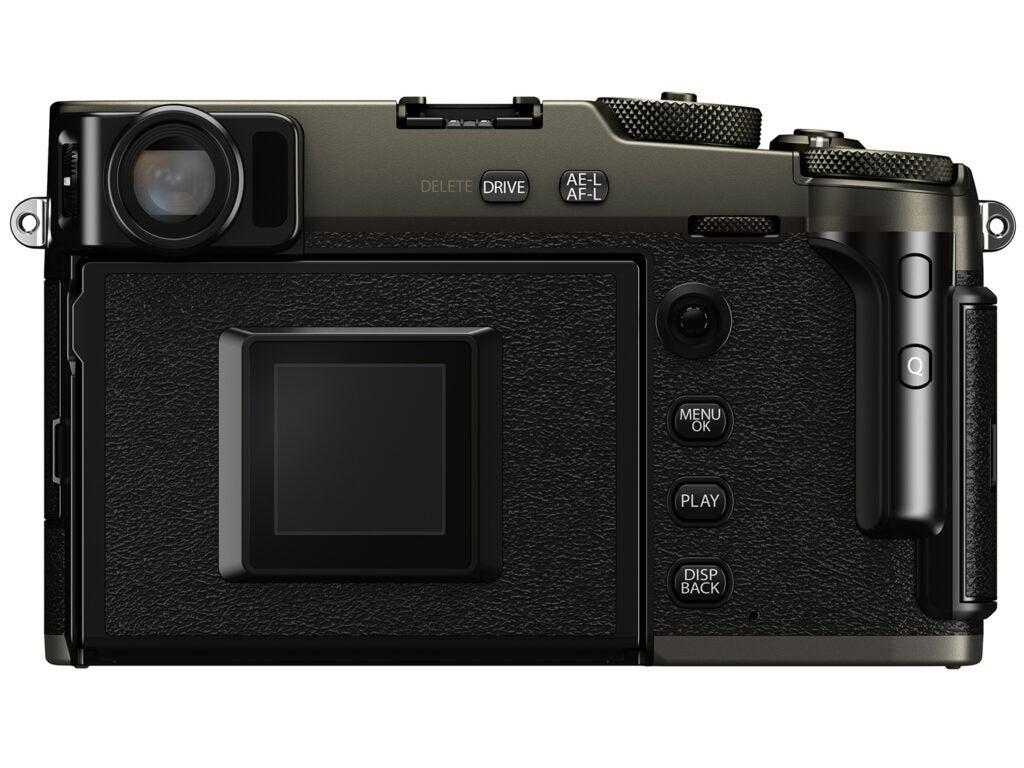 Fujifilm X-Pro3 back view