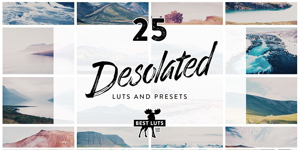 Get 300 high-quality Lightroom LUTs and presets for just $29