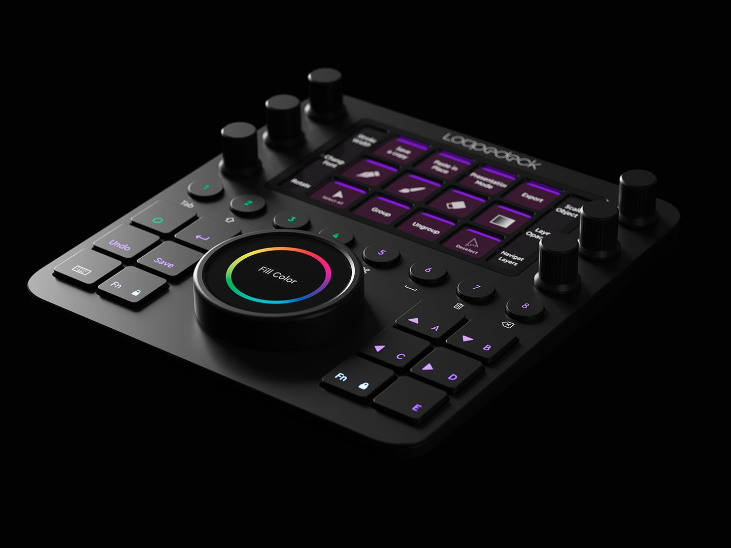 Loupedeck Creative Tool is a new compact tactile editing tool with knobs and buttons