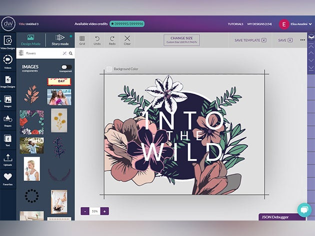 Create bold, custom marketing graphics for $39 with Design Wizard Pro