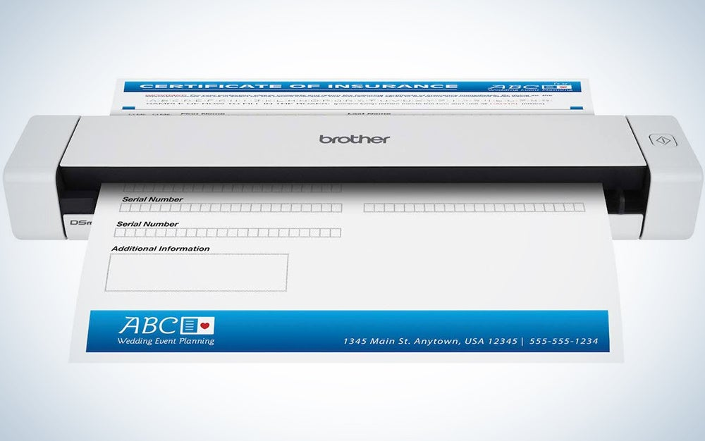 Brother Mobile Color Page Scanner