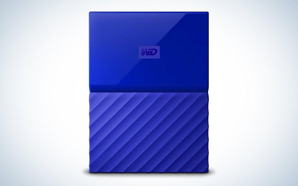 WD 1TB My Passport Portable External Hard Drive