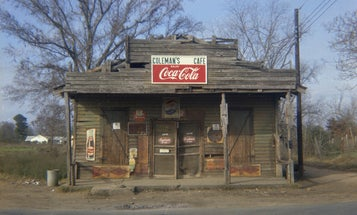 William Christenberry, an unlikely icon of Southern photography
